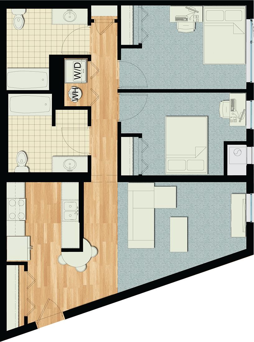 Floor Plan Image | Emerald 1
