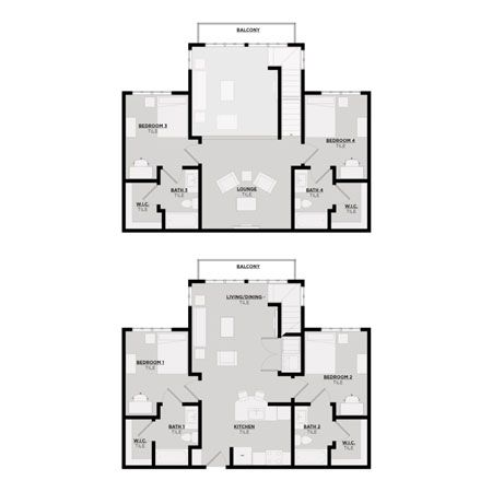 Floor Plan Image | Pearl 3 Townhome